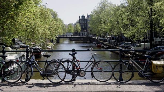La ciudad europea de Amsterdam es aparentemente uno de los lugares más seguros de Europa.