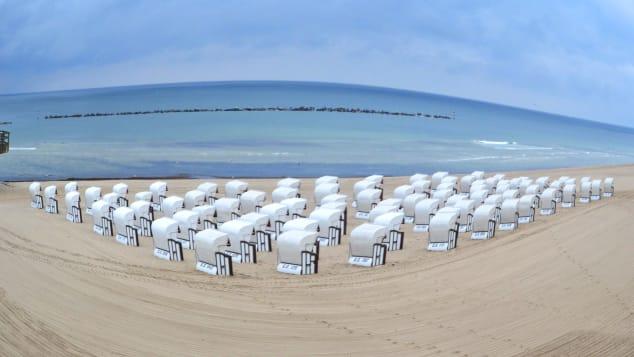German nudism- ruegen beach
