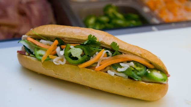 The world-famous banh mi sandwich.