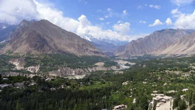 Pakistan's beautiful Hunza Valley. AAMIR QURESHI/AFP/AFP/Getty Images