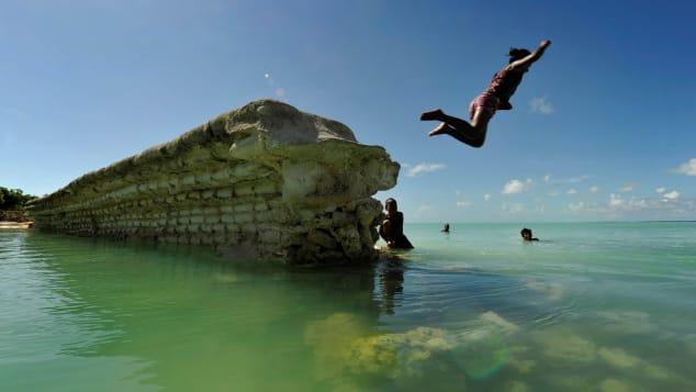 Kiribati's beauty is matched by its remoteness.