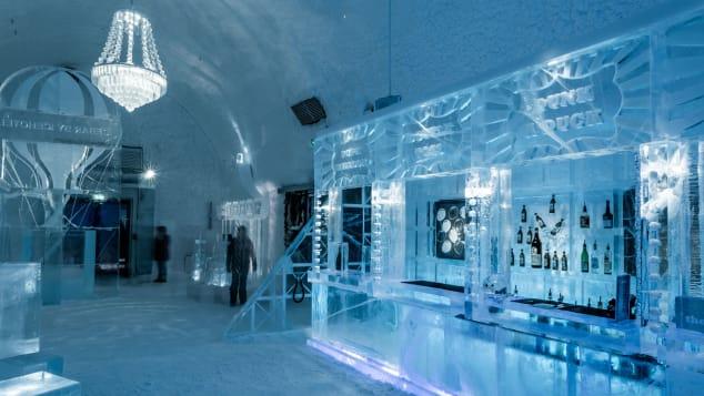 Imágenes de Icehotel para el 30 aniversario