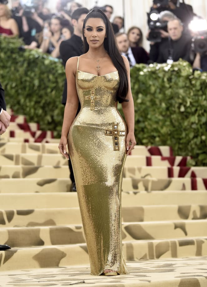 43 met gala red carpet kim karsashian