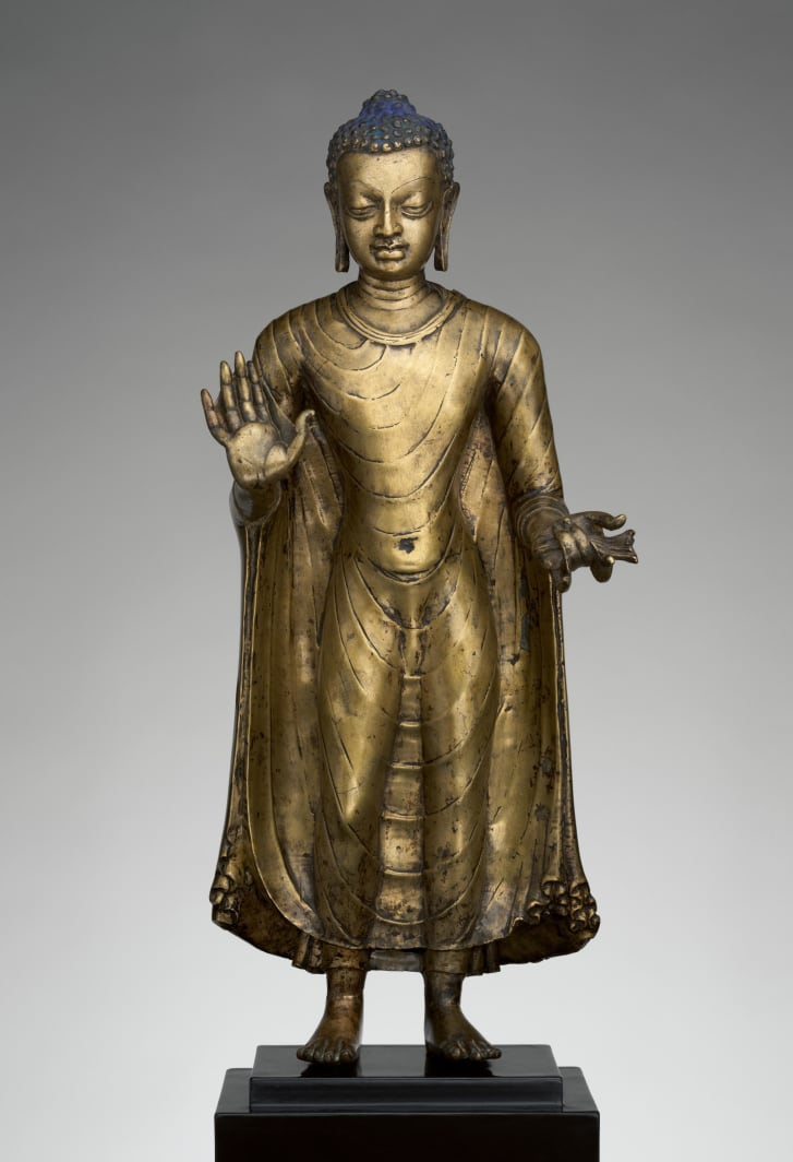 Buddha Offering Protection, Late 6th-early 7th century, India.