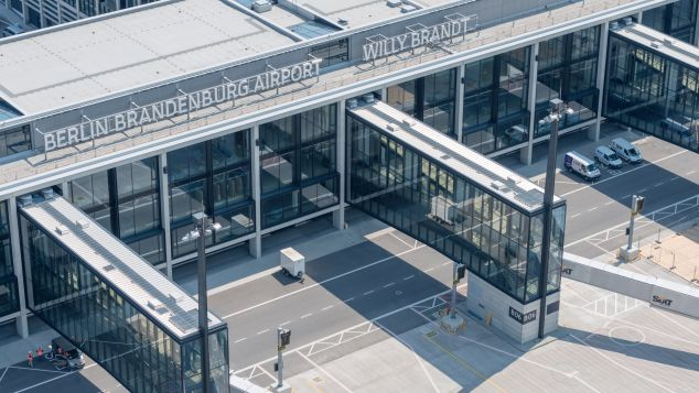 Berlin Brandenburg airport still unfinished