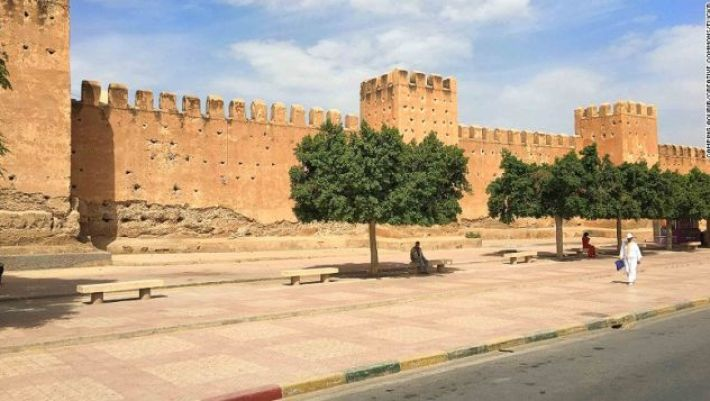 Taroudant is the quintessential Moroccan market town.