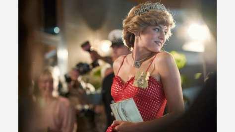 Emma Corrin in The Crown S4 op Netflix België