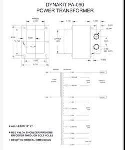 Dynakit Transformer Schematics Dynakit Parts
