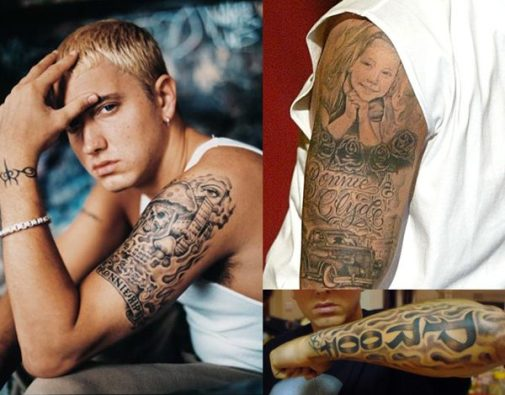 Tatouages Eminem