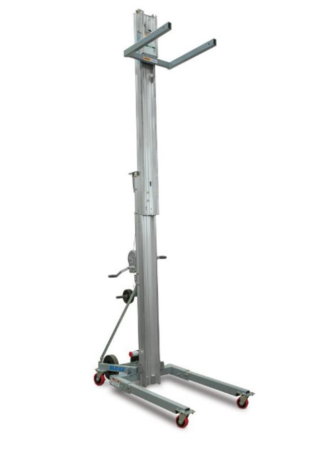 Hoist manual 10 foot lift 800lb sla10 rentals Vancouver BC