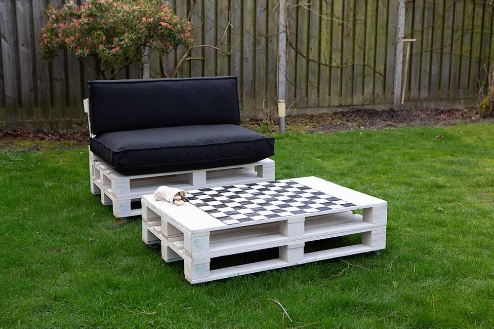 palettes pour mobilier de jardin une
