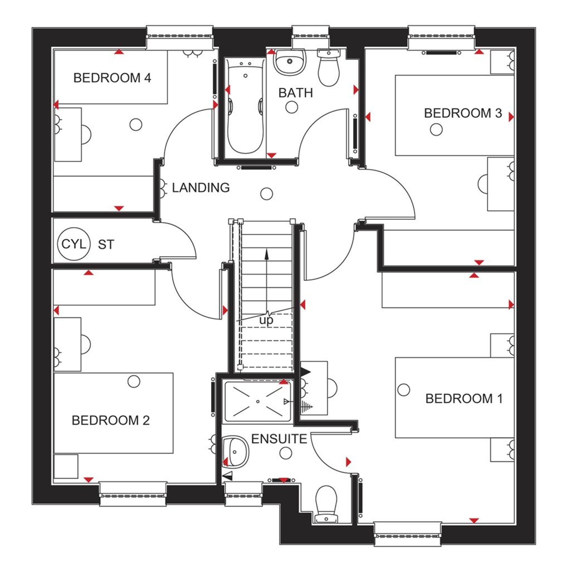 Barratt Homes Thornbury Floor Plans