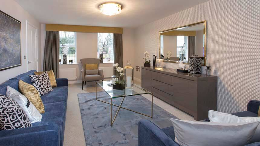 living room show homes modern decor ideas for home by the buckingham bertone manor