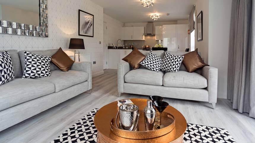 living room show homes wall paint color ideas for home by the gyle edinburgh area barratt