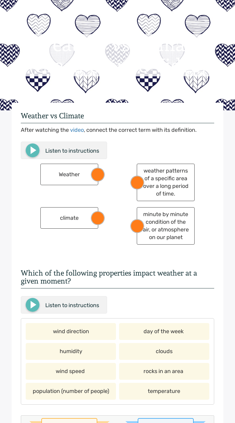 Weather vs Climate (Crash Course Video)   Interactive Worksheet by Cheryl  Stone   Wizer.me [ 1380 x 768 Pixel ]