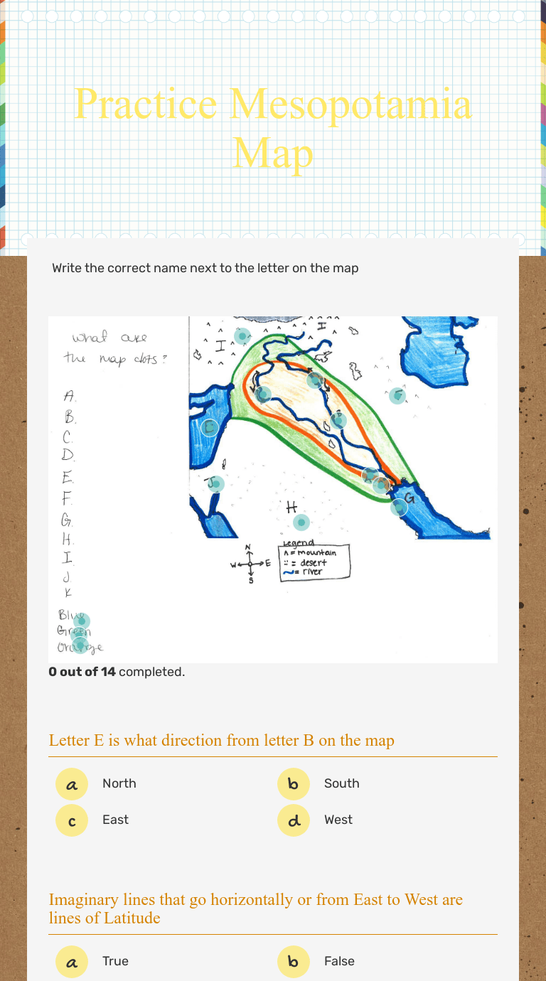 small resolution of Practice Mesopotamia Map   Interactive Worksheet by Sophia Newmaster    Wizer.me