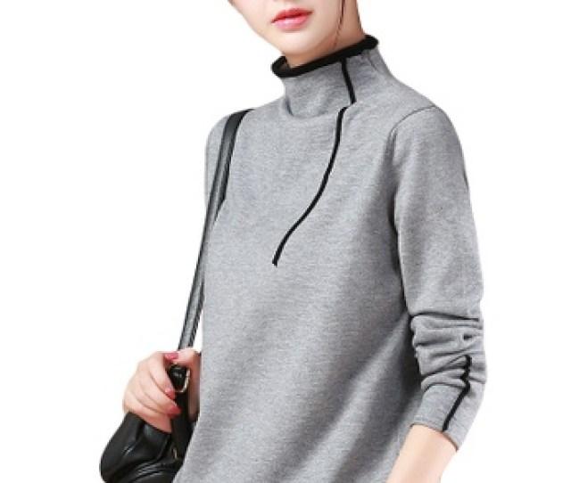 A In Girls Grey Fashion Slim High Necked Sweater 320b6aa8e4a8degs_1