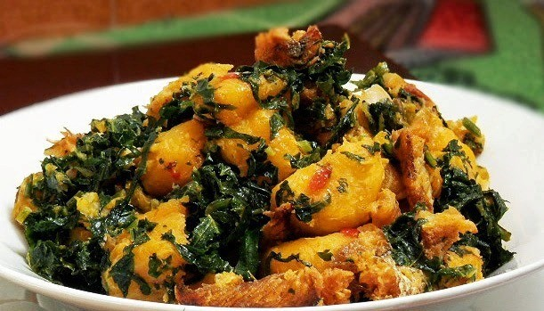 nigerian-plantain-yam bitterleaf