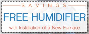 Free Humidifier with Furnace Installation