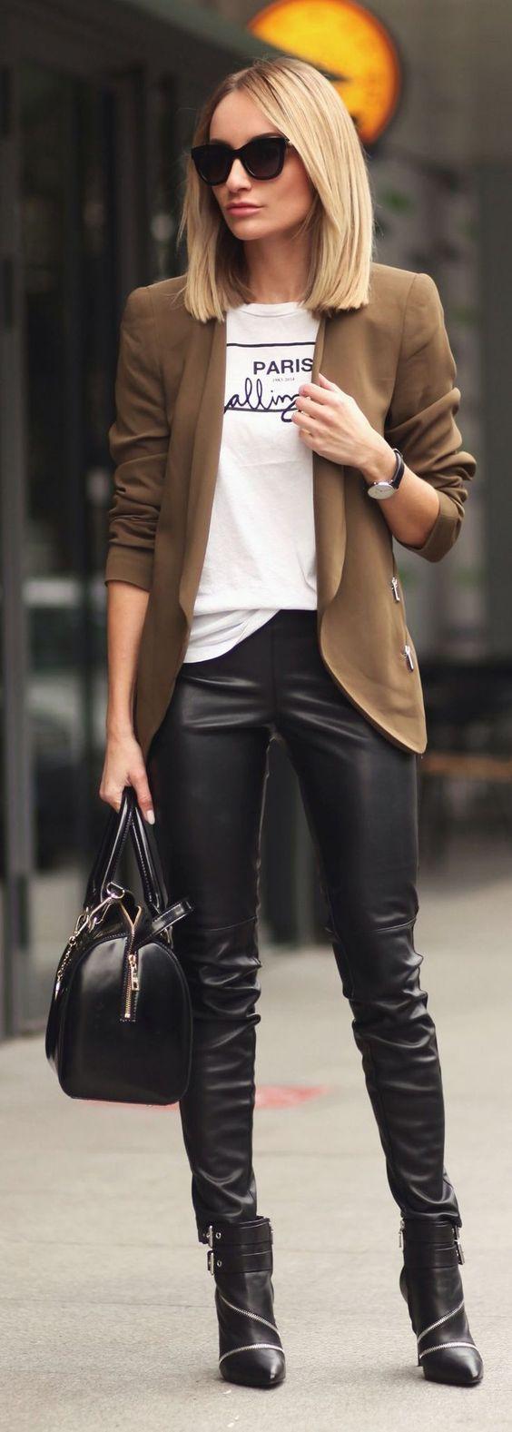 Leather Pants Inspo