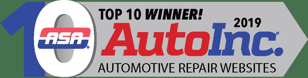 2019 Top 10 logo winner ASA