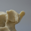 A spine model that elicits a 'crack' when the right L4-5 facets are pressed together