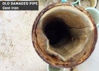 Repairing Cast Iron Sewer Pipe - Acpfoto