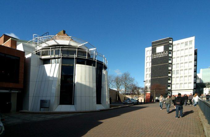 Urban Glass Glasgow Caledonian University (2)