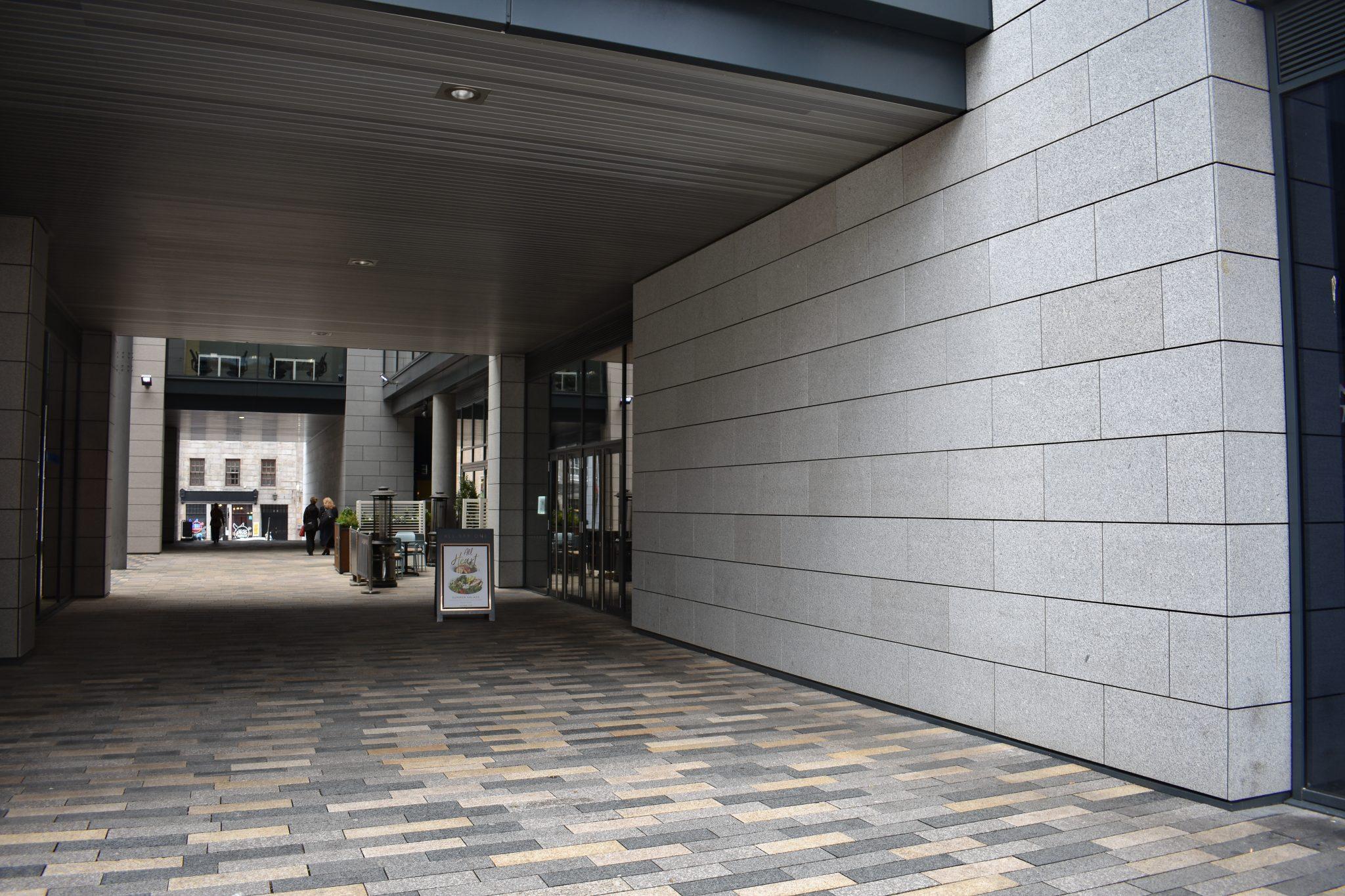 Marischal Square Granite
