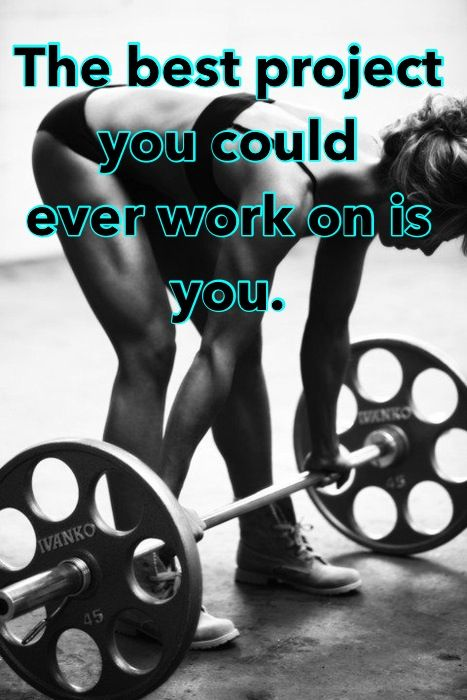 YOU are the best project you could ever work on.