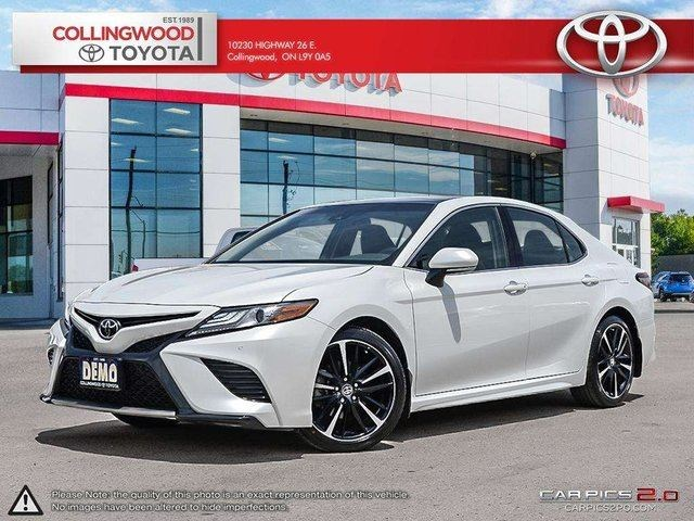 all new camry white brand 2017 price 2018 toyota demo xse panoramic roof and 19 inch alloys for 33799 in collingwood niagarathisweek com