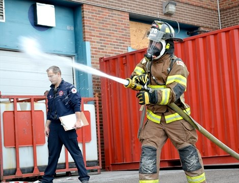 firefighter recruits had olympic