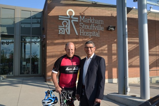 Markham cyclist shares painful story of depression  DurhamRegioncom