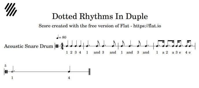 image dotted rhythms in duple