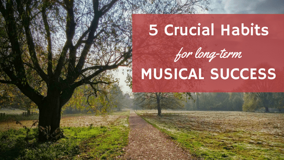 The 5 Crucial Habits for Long-Term Musical Success