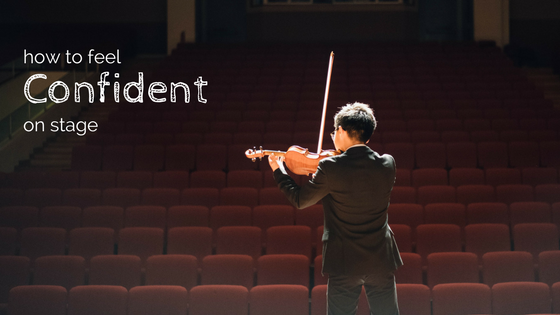 How to Feel Confident On Stage: Performance Mindset Blueprint