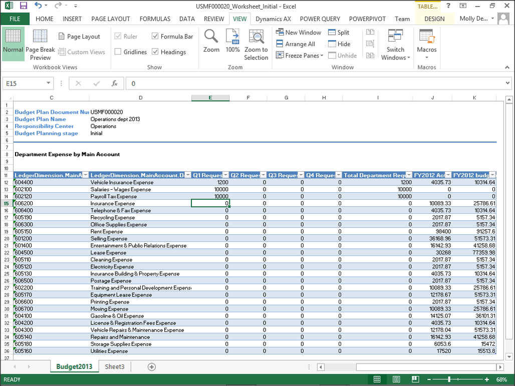 Use Excel Worksheets To Make Entering Budgeting A Breeze