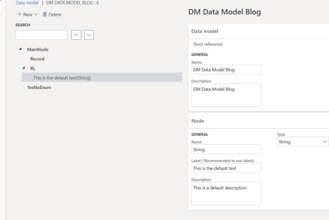 Data model translation EN