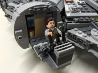 Customized LEGO Star Wars Millennium Falcon 75105 from The ...