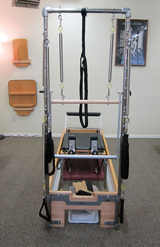 cadillac reformer hybrid in the Pilates studio