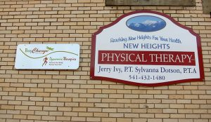 Body Change-dynamic therapies sign on north side of the building