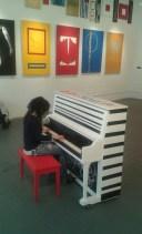 Stella at the Piano March 2014