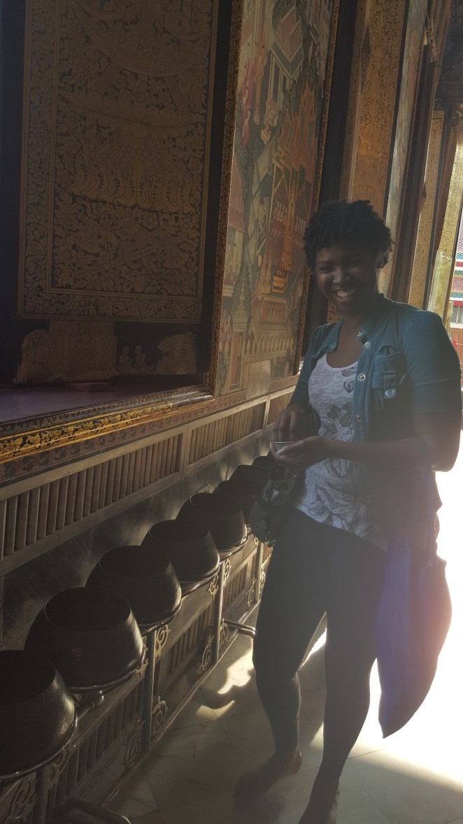 Inside the Temple of the Reclining Buddha!
