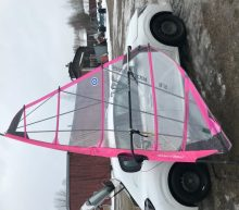 Used complete rig with a Neil Pryde sail