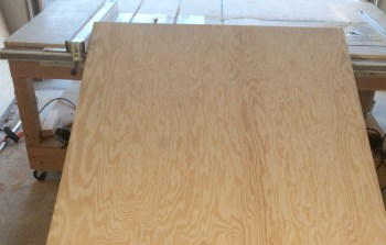 4x8 sheet ready to cut