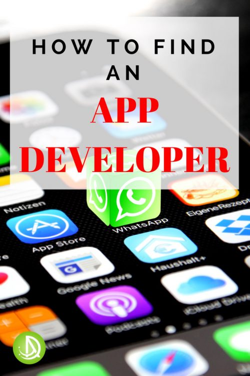 how to find an app developer