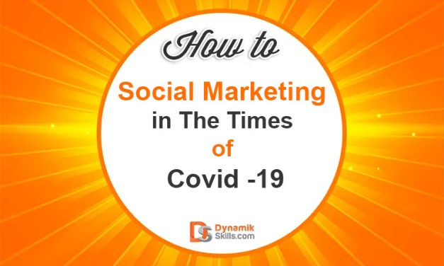 Social Marketing in The Times of Covid -19