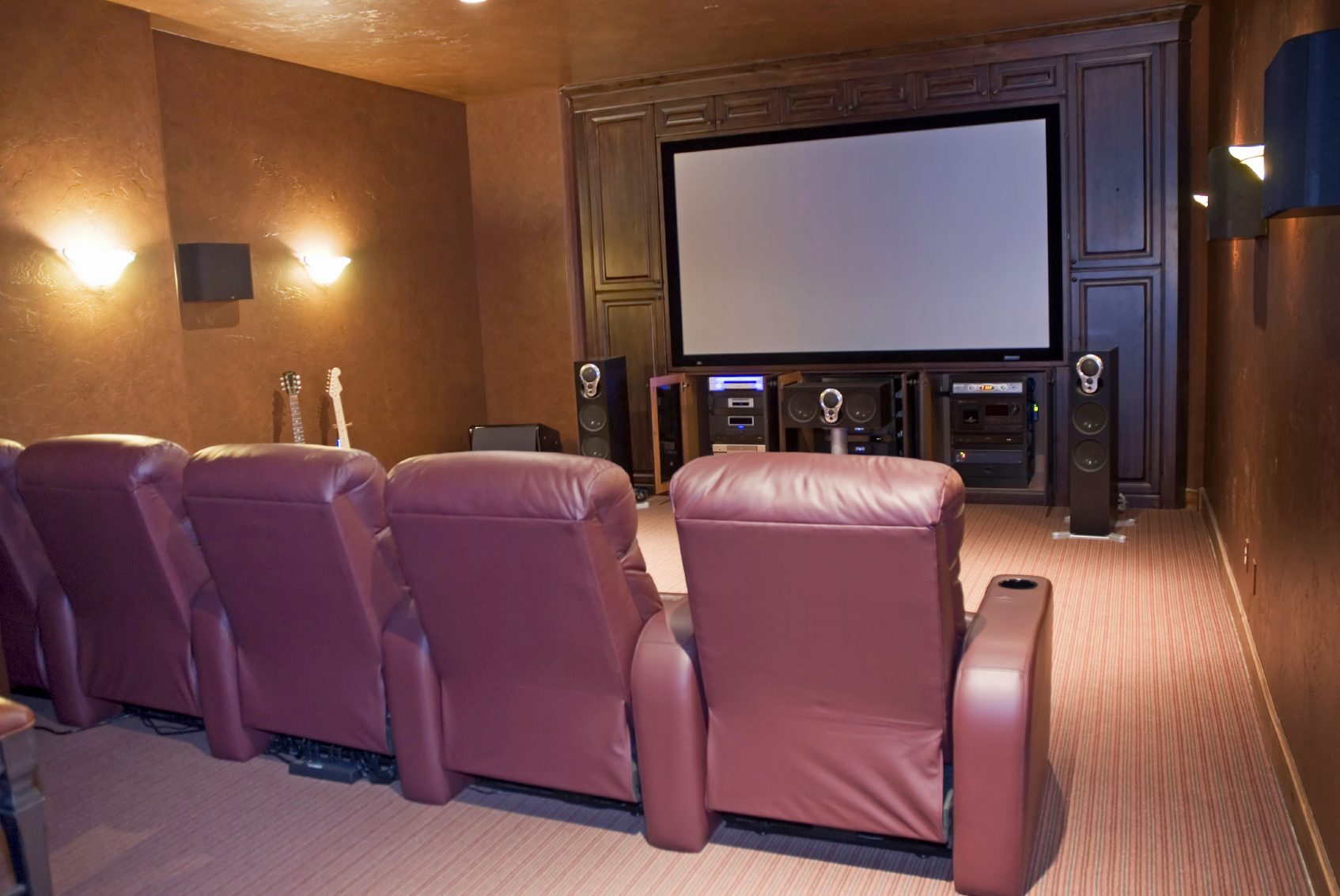 hight resolution of home theater installation