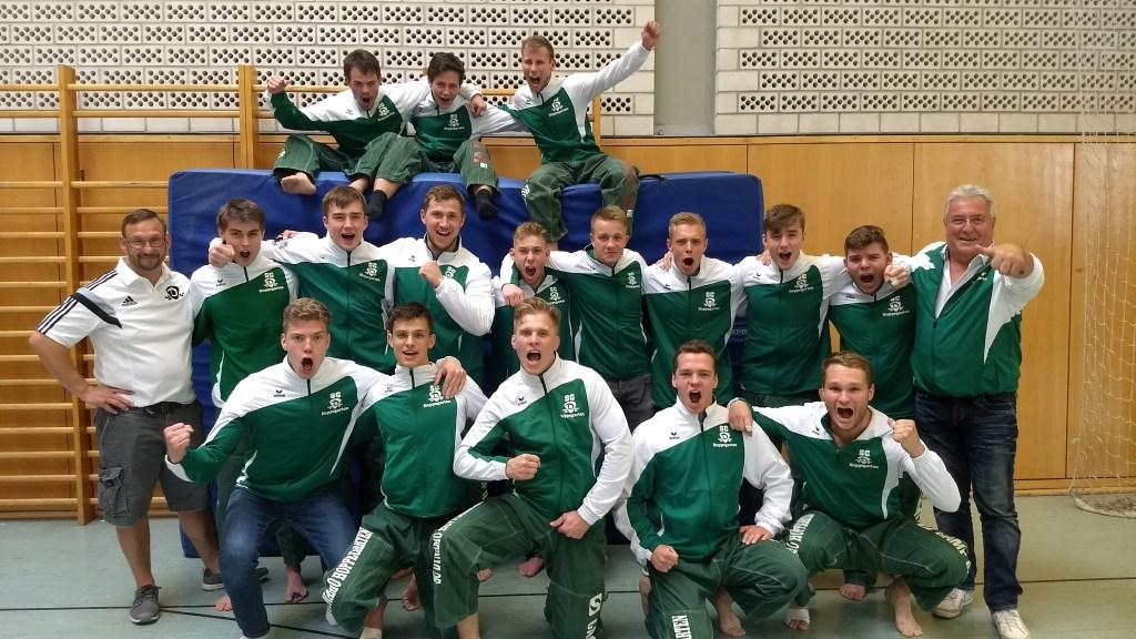 Hattrick in der 2. Bundesliga im Judo