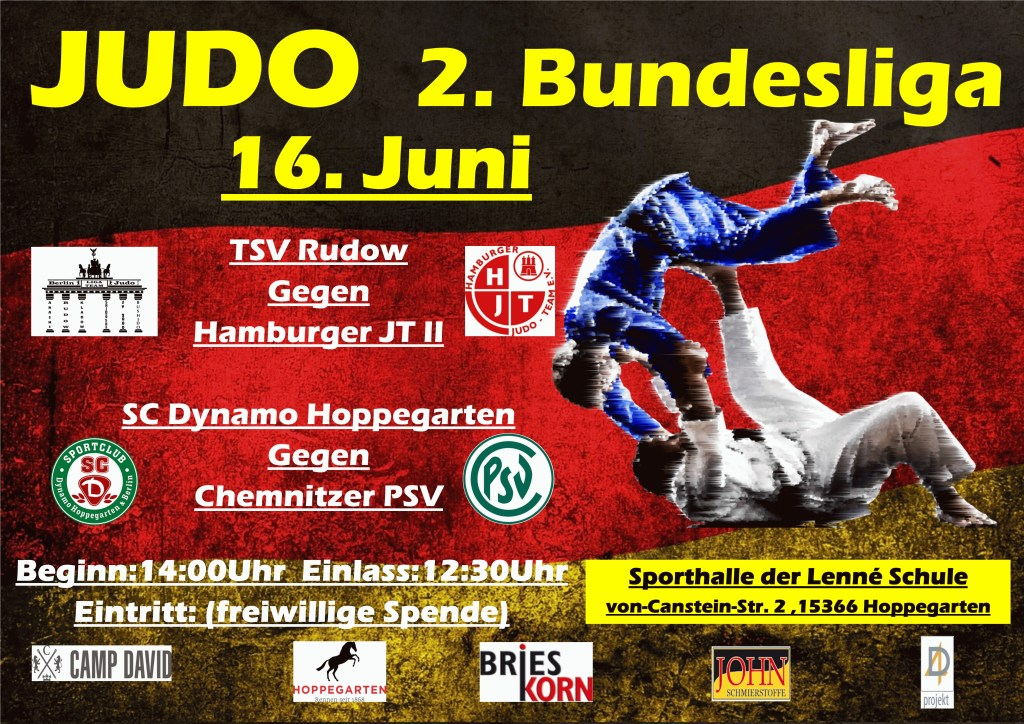 Judo Bundesliga  Showdown in Hoppegarten